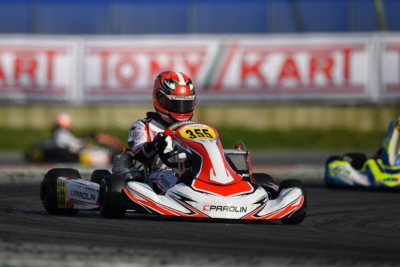 THE FAVOURITES AFTER THE HEATS OF WSK SUPER MASTER SERIES RD1