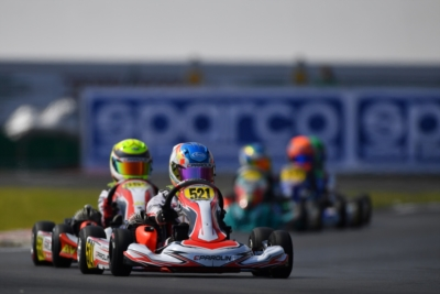 THE THIRD ROUND OF THE WSK SUPER MASTER SERIES IS UNDERWAY AT THE NEW CIRCUIT OF SARNO