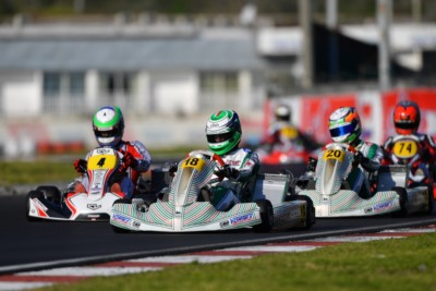 A Sarno WSK in Live Streaming per la terza prova della Super Master Series Gallery