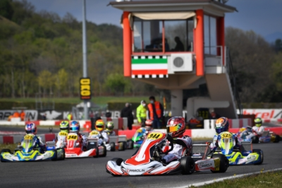 ALL SET FOR THE FINAL STAGES OF THE FIRST ROUND OF WSK EURO SERIES IN LONATO