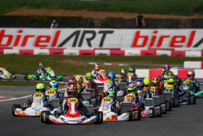 THE WSK SUPER MASTER SERIES UNDERWAY IN LONATO