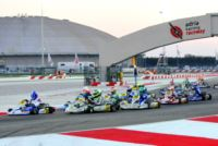 MORE THAN 200 ENTRANTS TO THE WSK CHAMPIONS CUP AT THE ADRIA KARTING RACEWAY.
