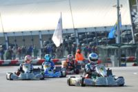 AT THE WSK CHAMPIONS CUP IN ADRIA, ARDIGÒ (I – TONY KART-VORTEX) IN KZ2, SARGEANT (USA - FA ALONSO-VORTEX) AND TRAVISANUTTO (I - TONY KART-VORTEX) IN OK ARE THE FIRST POLE-SITTERS.