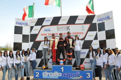WSK SUPER MASTER SERIES IN SARNO (ITALY): VICTORIES FOR ARDIGÒ (I – TONY KART-VORTEX KZ), POLLINI (I - CRG-TM KZ2), TRAVISANUTTO (I - TONY-VORTEX OK), SHVETSOV (RUS - TONY-VORTEX OKJ) AND MINÌ (I – ENERGY-TM 60MINI). Gallery