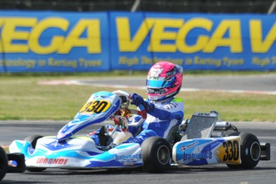 QUALIFYING IN MURO LECCESE (I) FOR THE 3RD ROUND OF THE WSK SUPER MASTER SERIES. THE POLE SITTERS ARE CAMPONESCHI (I – CRG-PARILLA KZ), SARGEANT (USA – FA-VORTEX OK) AND WATT (NL - TONY KART-VORTEX OKJ), WITH PEX (NL - CRG-VORTEX) AHEAD IN KZ2. Gallery