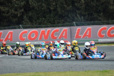 THE CIRCUIT OF MURO LECCESE IS HOSTING THE 3rd ROUND OF THE WSK SUPER MASTER SERIES. THE LEADERS AFTER THE HEATS ARE ARDIGÒ (I – TONY KART-VORTEX KZ), LORANDI (I – TONY KART-VORTEX KZ2), SARGEANT (USA – FA KART-VORTEX OK) AND WATT (NL - TONY KART-VORTEX O Gallery
