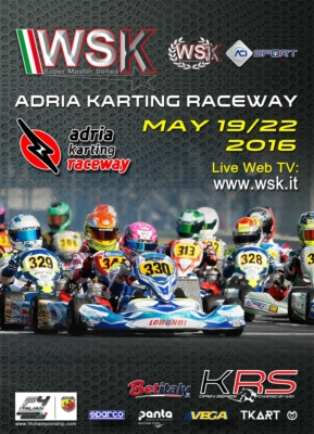 THE WSK SUPER MASTER SERIES 2016 IS APPROACHING ITS FINALE. THE LAST EVENT OF THE SERIES IS ON SCHEDULE AT THE ADRIA KARTING RACEWAY (ROVIGO – I), FROM 19TH TO 22ND MAY WITH THE CATEGORIES 60 MINI, OK JUNIOR, OK, KZ AND KZ2.