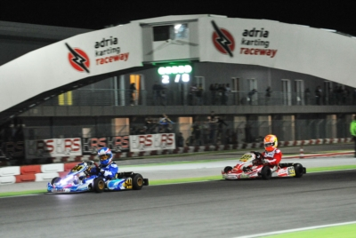 THE WSK NIGHT EDITION LIGHTS UP THE NIGHTS AT THE ADRIA KARTING RACEWAY.