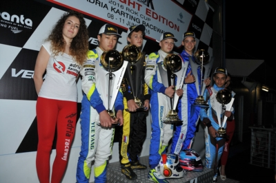 LA WSK NIGHT EDITION CONCLUDE CON SUCCESSO LE SUE NOTTI DI GARA ALL'ADRIA KARTING RACEWAY DI ADRIA (RO)
