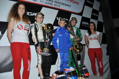 THE WSK NIGHT EDITION CONCLUDES ITS RACING NIGHTS AT THE ADRIA KARTING RACEWAY