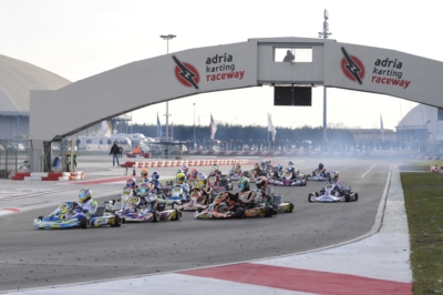 LA WSK FINAL CUP È IN ARRIVO ALL'ADRIA KARTING RACEWAY PER CONCLUDERE LA STAGIONE DI GARE DI WSK PROMOTION CON LE CATEGORIE KZ2 - OK - OK JUNIOR E 60 MINI.