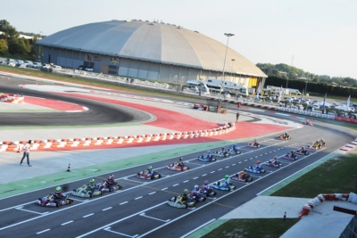 THE FIRST LEADERS OF THE WSK FINAL CUP AT THE ADRIA KARTING RACEWAY AMONG THE 176 ENTRANTS ARE IACOVACCI (I – LUXOR-LKE KZ2), NOVALAK (GB – TONY KART-VORTEX OK) AND WATT (DK – TONY KART-VORTEX OKJ). TOMORROW QUALIFYING FOR THE 60 MINI.