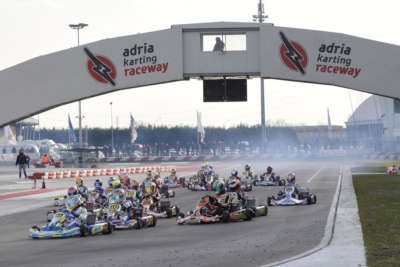250 ENTRANTS TO THE WSK CHAMPIONS CUP, SCHEDULED FROM 26TH TO 29TH JANUARY AT THE ADRIA KARTING RACEWAY.