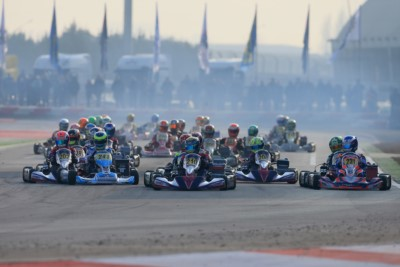 ADRIA IS GOING TO HOST ANOTHER UNMISSABLE WEEKEND WITH THE WSK SUPER MASTER SERIES, SCHEDULED FROM 2ND TO 5TH FEBRUARY. 250 ENTRANTS TO THE FOUR CATEGORIES TAKING PART IN THE EVENT: KZ2, OK, OKJ AND 60 MINI. Gallery