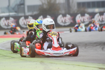 KICK OFF FOR THE WSK SUPER MASTER SERIES AT THE ADRIA KARTING RACEWAY, WITH 243 DRIVERS IN THE FOUR CATEGORIES KZ2, OK, OKJ AND 60 MINI.