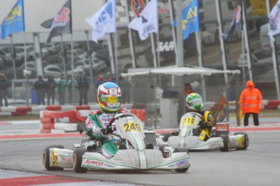 KICK OFF FOR THE WSK SUPER MASTER SERIES AT THE ADRIA KARTING RACEWAY, WITH 243 DRIVERS IN THE FOUR CATEGORIES KZ2, OK, OKJ AND 60 MINI. Gallery