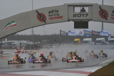 WSKSUPER MASTER SERIES ROUND 1 - ADRIA KARTING RACEWAY: THE SCHEDULE FOR THE HEATS THAT WERE HALTED TODAY DUE TO THE INCLEMENT WEATHER, WILL BE COMPLETED TOMORROW,  FEBRUARY 5TH.