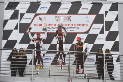 FIRST ROUND OF THE WSK SUPER MASTER SERIES ENDS IN ADRIA (I). THE WINNERS ARE DE PAUW (B – KOSMIC-PARILLA) IN OK, ABBASSE (F – SODI-TM) IN KZ2, ROSSO (I – TONY KART-VORTEX) IN OK JUNIOR AND SPINA (I – CRG-TM) IN 60 MINI.