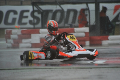 AFTER THE OPENING ROUND IN ADRIA (I) THE FIRST 2017 WSK SUPER MASTER SERIES LEADERS ARE ABBASSE (F – SODI-TM) IN KZ2, DE PAUW (B – KOSMIC-PARILLA) IN OK, ROSSO (I – TONY KART-VORTEX) IN OKJ AND SPINA (I – CRG-TM) IN 60 MINI. Image