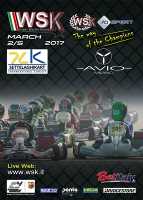 THE DRIVERS OF THE WSK SUPER MASTER SERIES ARE ARRIVING AT CASTELLETTO DI BRANDUZZO (I) FOR THE SECOND ROUND OF THE SERIES SCHEDULED FROM 2ND TO 5TH MARCH.