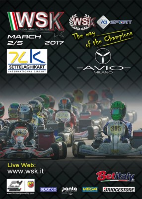 THE DRIVERS OF THE WSK SUPER MASTER SERIES ARE ARRIVING AT CASTELLETTO DI BRANDUZZO (I) FOR THE SECOND ROUND OF THE SERIES SCHEDULED FROM 2ND TO 5TH MARCH. Gallery