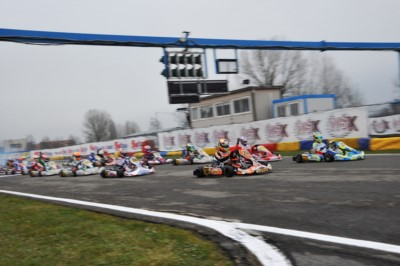 THE NEW CONTROL SYSTEM ON TRACK, PROVIDED BY HD CAMERAS DEPLOYED AROUND THE CIRCUIT, IS READY FOR THE 270 ENTRANTS TO THE WSK SUPER MASTER SERIES OF CASTELLETTO DI BRANDUZZO (I). Gallery