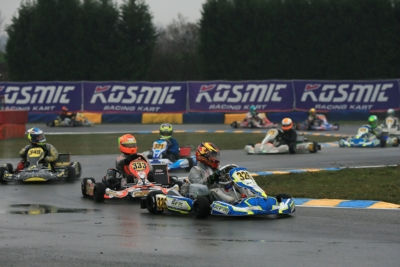 FIRST RACING DAY OF THE WSK SUPER MASTER SERIES IN CASTELLETTO DI BRANDUZZO (PV). THE FASTEST IN QUALIFYING WERE ABBASSE (F – SODI-TM KZ2), LIPPKAU (D – ZANARDI-PARILLA OK), HAVERKORT (NL – CRG-PARILLA OKJ) AND MINÌ (I – PAROLIN-TM 60 MINI).