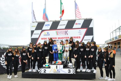 ALLA SECONDA TAPPA DELLA WSK SUPER MASTER SERIES A CASTELLETTO (PV) VITTORIA DI NOVALAK (GB – TONY KART-VORTEX) IN OK, LAMMERS (NL – SODI-TM) IN KZ2, ROSSO (I – TONY KART-VORTEX) IN OK JUNIOR E ANTONELLI (I – TONY KART-VORTEX) IN 60 MINI. Gallery