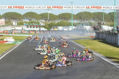 AT THE WORLD CIRCUIT LA CONCA (I), THE 3RD ROUND OF THE WSK SUPER MASTER SERIES: BEST PERFORMANCE FOR LAMMERS (SODI-TM KZ2), HAUGER (CRG-PARILLA OK), THOMPSON (FA KART-VORTEX OKJ) AND ANTONELLI (TONY KART-VORTEX 60MINI). Gallery