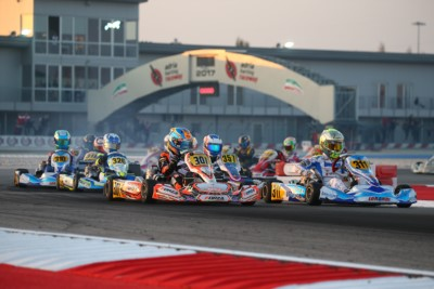 213 DRIVERS AT THE WSK FINAL CUP, TODAY IN ADRIA (I). POLE POSITIONS IN QUALIFYING FOR DOOHAN (AUS – FA-VORTEX OK), LORANDI (I – TONY KART-VORTEX KZ2), EDGAR (GB – EXPRIT-TM OKJ) AND SPINA (I – CRG-TM 60 MINI). Gallery