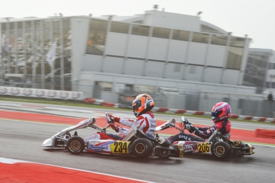 191 DRIVERS AT THE SECOND ROUND OF THE WSK FINAL CUP, IN ADRIA (I). TODAY THE FASTEST IN QUALIFYING ARE TRAVISANUTTO (I – ZANARDI-PARILLA OK), MINÌ (I – PAROLIN-PARILLA OKJ), LORANDI (I – TONY-VORTEX KZ2) AND BEDRIN (RUS – TONY KART-TM 60 MINI).