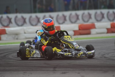 THE WSK FINAL CUP AT ADRIA (I) APPROACHES ITS FINALE. THE LEADERS AFTER THE HEATS ARE BASZ (PL – KOSMIC-VORTEX OK), THOMPSON (GB – FA ALONSO-VORTEX OKJ), LORANDI (I – TONY KART-TM KZ2) AND BERTUCA (I – EVOKART-TM 60 MINI). Gallery