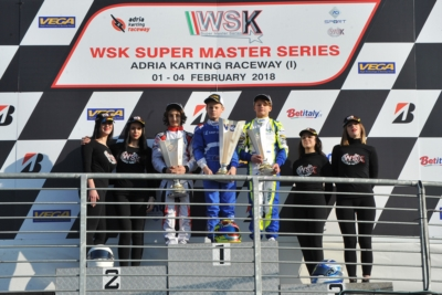 NEW LEADERS OF WSK SUPER MASTER SERIES AT THE ADRIA KARTING RACEWAY: VICTORIES TO JANKER (D – KR-PARILLA OK), IRLANDO (I – SODI-TM KZ2), SMAL (RUS - TONY KART-VORTEX OKJ), AND STENSHORNE (N – PAROLIN-TM 60 MINI).