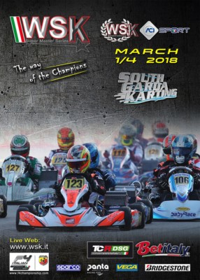 MORE THAN 300 DRIVERS ENTERED IN THE SECOND ROUND OF THE WSK SUPER MASTER SERIES. AN INTERNATIONAL KARTING WEEKEND FULL OF BATTLES AHEAD AT SOUTH GARDA KARTING IN LONATO (I) FROM MARCH 1ST TO 4TH. Gallery