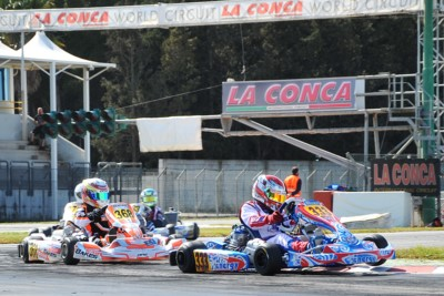 LA CONCA WORLD CIRCUIT, TAPPA NUMERO 3 DELLA WSK SUPER MASTER SERIES: A MURO LECCESE, DAL 15 AL 18 MARZO, PROSEGUE LA CORSA ALLA VITTORIA NELLE CLASSIFICHE OK, OK JUNIOR, KZ2 E 60 MINI. Gallery
