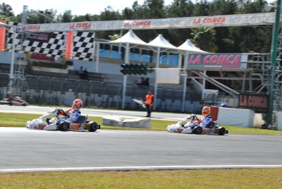 LA CONCA WORLD CIRCUIT, ROUND 3 OF WSK SUPER MASTER SERIES: THE TITLE HUNT FOR THE CLASSIFICATION OF OK, OK JUNIOR, KZ2 AND 60 MINI RESUMES FROM MURO LECCESE  FROM MARCH 15TH TO 18TH.