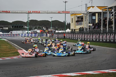 WSK SUPER MASTER SERIES IS AT MURO LECCESE (I): 235 DRIVERS ON TRACK FOR THE 3RD ROUND. QUICKEST TIME IN QUALIFYING FOR DE CONTO (I – CRG-TM KZ2), COLUCCIO (I – BIRELART-TM OK), MINÌ (I – PAROLIN-PARILLA OKJ) AND BOHRA (USA – PAROLIN-TM 60 MINI). Gallery