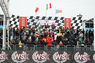 IMPORTANT WINS AT THE 3RD ROUND OF WSK SUPER MASTER SERIES IN MURO LECCESE (I) TO DE CONTO (I – CRG-TM KZ2), MALONEY (BDS – KOSMIC-VORTEX OK), DAVID (F – KOSMIC-VORTEX OKJ) AND ANTONELLI (I - ENERGY-TM 60 MINI).