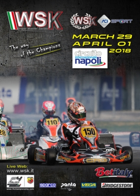EASTER WEEKEND IN THE SIGN OF THE WSK SUPER MASTER SERIES: THE REPLAY OF THE 2ND ROUND WILL GET UNDERWAY IN SARNO, FROM MARCH 29TH TO APRIL 1ST, AS OK, OK JUNIOR, KZ2 AND 60 MINI ARE EYING THE FINAL SPRINT TO THE LINE.