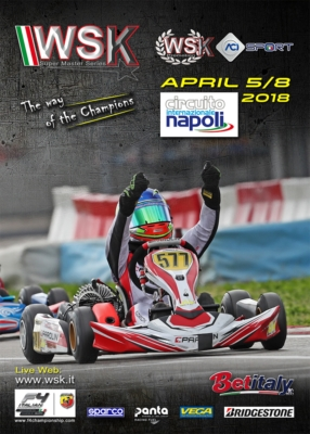 WSK SUPER MASTER SERIES AT ITS CLOSING ROUND WITH  270 VERIFIED DRIVERS MAKING IT TO THE TRACK AT THE INTERNATIONAL CIRCUIT NAPOLI IN SARNO (SALERNO, ITALY).