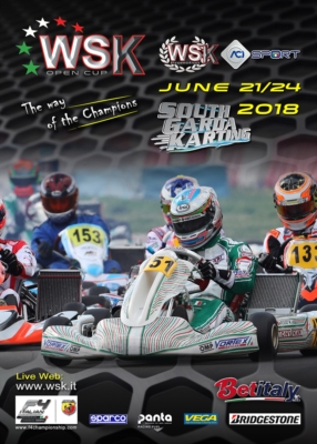 WSK PROMOTION IS PREPARING ITS WSK OPEN CUP. ENTRIES ARE NOW ACCEPTED FOR THE EVENT THAT WILL TAKE PLACE AT THE SOUTH GARDA KARTING CIRCUIT IN LONATO (BS) FROM JUNE 21ST TO 24TH, 2018. Image