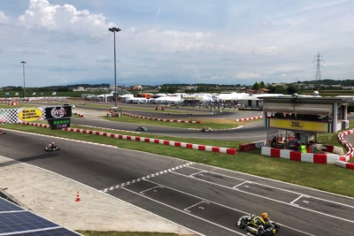THE WSK OPEN CUP WEEKEND IS UNDERWAY WITH 225 DRIVERS ENTERED IN THE SINGLE-ROUND EVENT THAT WILL RUN ITS GRAND FINALE ON SUNDAY JUNE 24TH.
