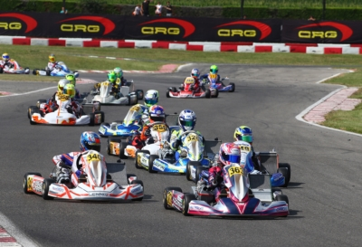 LONGHI (I – BIRELART-TM KZ2), FERRARI (I – PAROLIN-TM OK), BARNARD (GB – KR-PARILLA OKJ) AND EYKMANS (B – PAROLIN-TM) ARE THE QUICKEST IN QUALIFYING OF WSK OPEN CUP IN LONATO (BS).