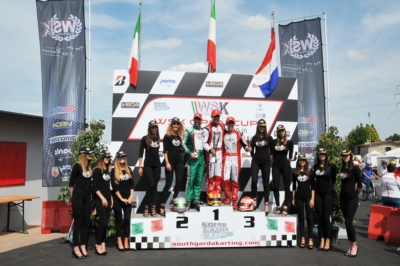 THE WSK OPEN CUP AT LONATO SAW VICTORIES GO TO LONGHI (I – BIRELART-TM KZ2), COLUCCIO (I – BIRELART-TM OK), SMAL (RUS – TONYKART-VORTEX OKJ) AND STENSHORNE (N – PAROLIN-TM 60MINI).