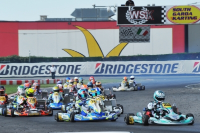 NEARLY 250 DRIVERS ENTERED THE WSK FINAL CUP, WHEN ONE DAY IS LEFT BEFORE THE DEADLINE. THE FIRST OF THE 3 ROUNDS WILL TAKE PLACE NEXT WEEKEND, FROM OCTOBER 18TH TO 21ST AT THE CIRCUIT SOUTH GARDA KARTING IN LONATO (BRESCIA - I).