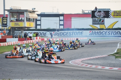 WSK FINAL CUP AT SOUTH GARDA KARTING IN LONATO (BS) WITH SEVERAL F.1. NAMES: FASTEST TIME TODAY TO BADOER (I – PAROLIN-TM 60 MINI), BEDRIN (RUS – TONY KART-VORTEX OKJ), TRAVISANUTTO (I – KR-PARILLA OK) AND ABBASSE (F – SODI-TM KZ2).