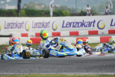 WSK FINAL CUP AT SOUTH GARDA KARTING IN LONATO (BS): POWELL (JAM – ENERGY-TM 60 MINI), WHARTON (AUS – FA-VORTEX OKJ), TRAVISANUTTO (I – KR-PARILLA OK) AND LAMMERS (NL – SODI-TM KZ2) ON TOP TODAY. Gallery