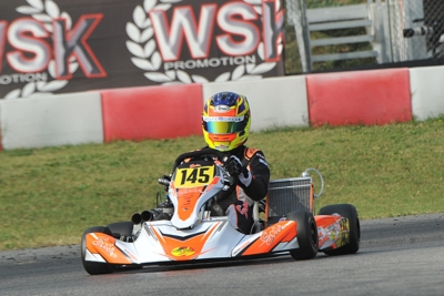 THE FIRST CLASSIFICATION LEADERS OF WSK FINAL CUP AFTER ROUND ONE IN LONATO: POWELL (JAM – ENERGY-TM 60 MINI), BARNARD (GB – KR-PARILLA OKJ), TRAVISANUTTO (I – KR-PARILLA OK) AND LAMMERS (NL – SODI-TM KZ2) ARE THE DRIVERS TO BEAT AT THE NEXT ROUND IN CAST
