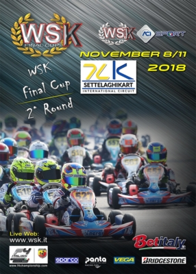 THE CENTRAL ROUND OF WSK FINAL CUP GETTING READY AT THE SETTELAGHI KART IN CASTELLETTO DI BRANDUZZO (I): CHALLENGES ON IN ALL CATEGORIES NEXT WEEK.