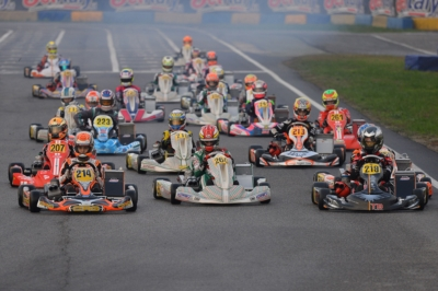 LOTTE IN CLASSIFICA ACCESE A CASTELLETTO (PV) NELLA WSK FINAL CUP: MIGLIOR TEMPO IN PROVA PER BADOER (I – PAROLIN-TM 60 MINI), MINÌ (I – PAROLIN-TM OKJ), RENAUDIN (F – SODI-TM KZ2) E TRAVISANUTTO (I – KR-PARILLA OK).